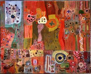 Ngurrara II Canvas 1997