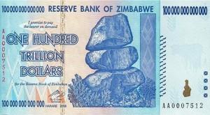 Zimbabwe-100trilliondollars