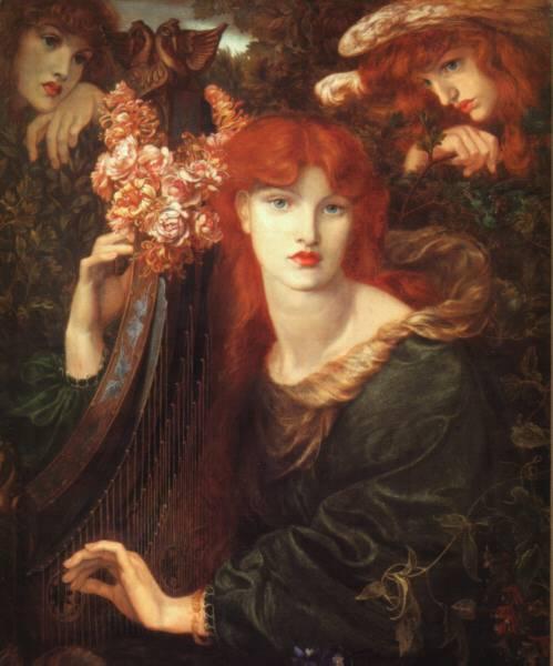 LaGhirlandata-Rossetti